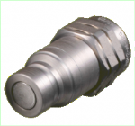 1/2 BSP FLAT FACE QUICK RELEASE COUPLING (PROBE) MALE